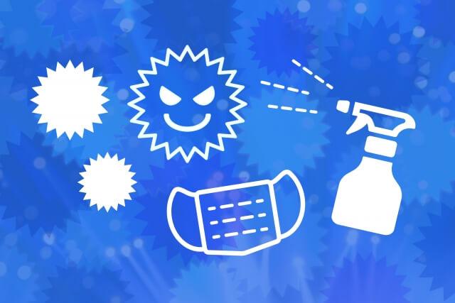 ③糞尿の掃除、殺菌、消毒を行う