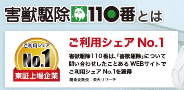 【害獣駆除110番の口コミ評判】利用前に知りたい情報を総まとめ!