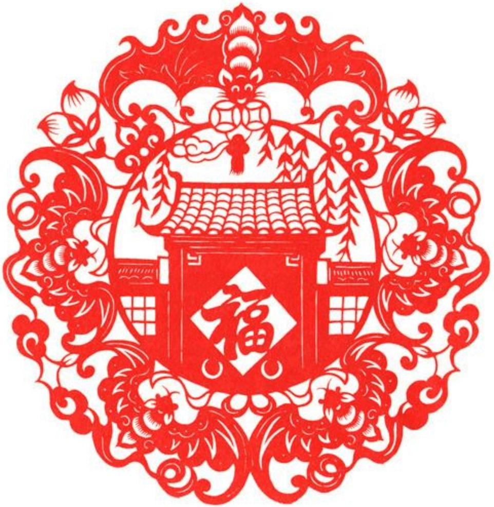 中国でもコウモリは縁起のいい幸せの象徴とされている