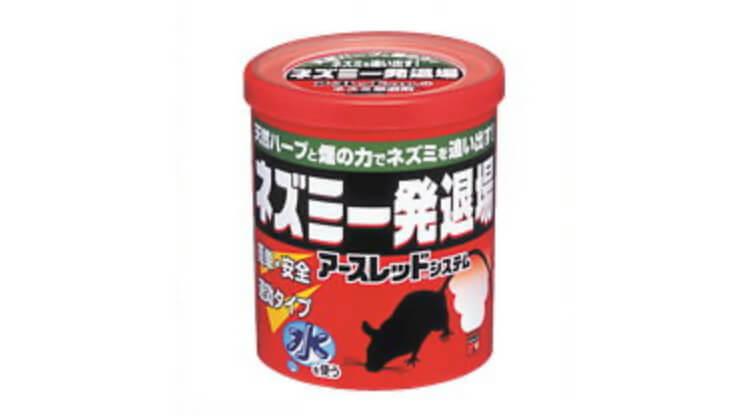 【ハッカ油燻煙材】アース製薬 ネズミ一発退場